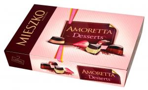 Шок.набор  МИЕШКО 276г AMORETTO DESSERTS CHOCOLATES /14